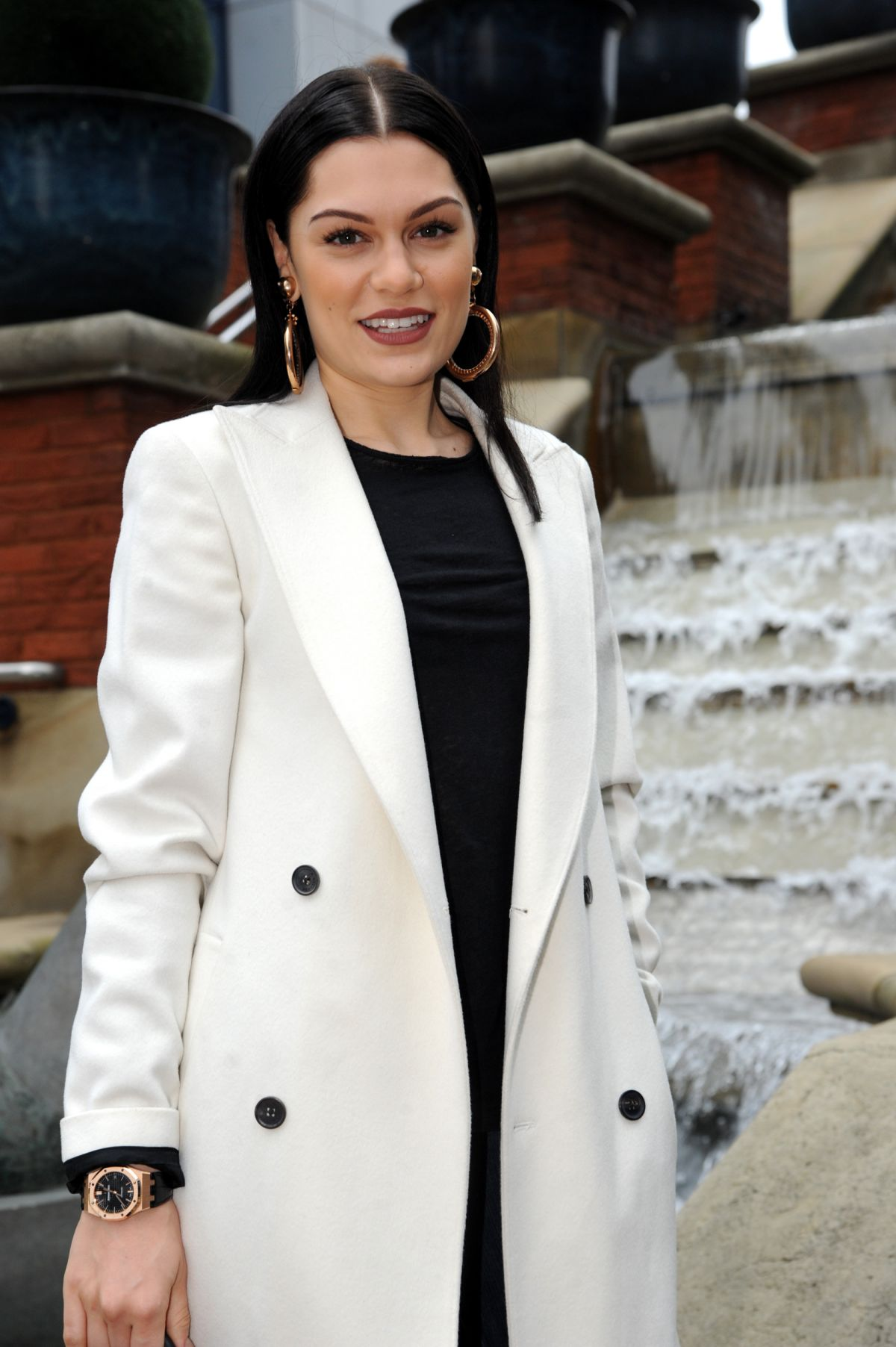 JESSIE J Arrives at Capital FM in Manchester