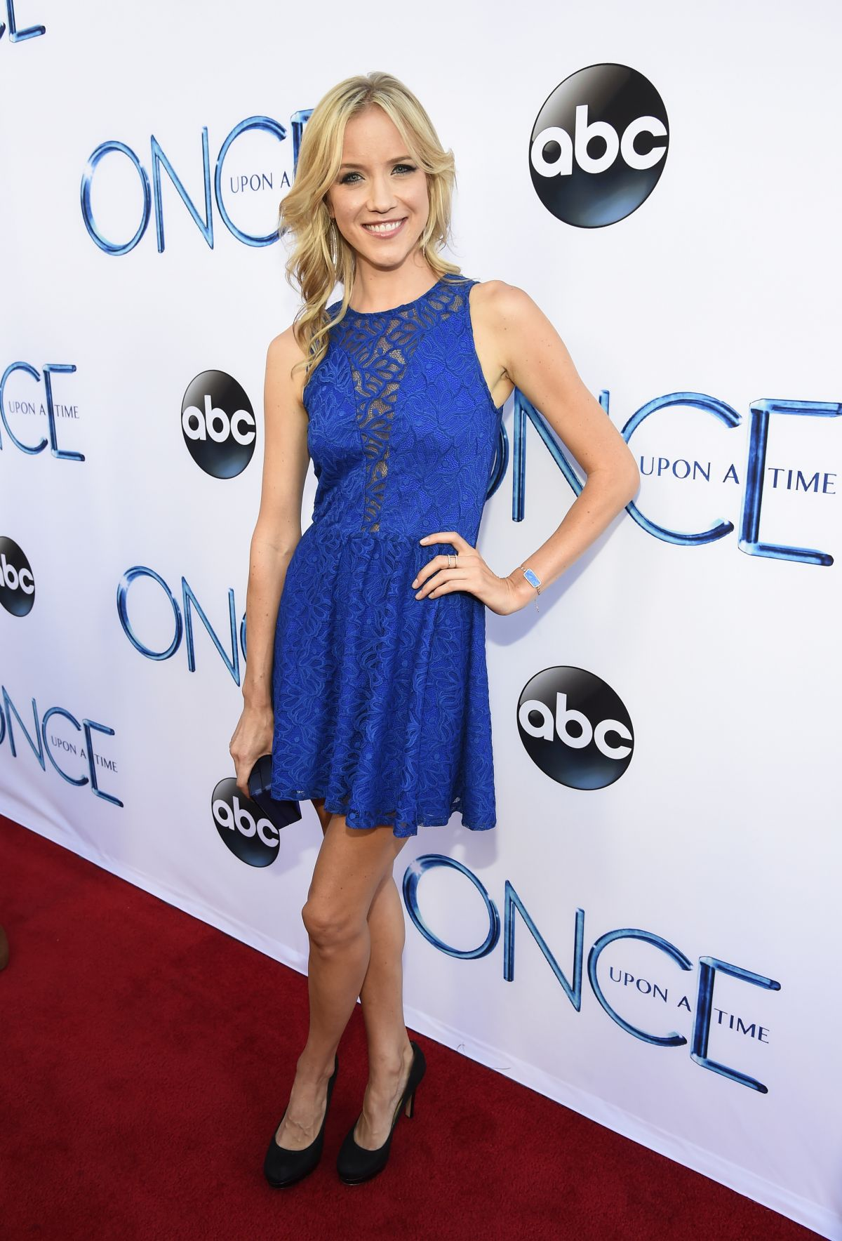 JESSY SCHRAM at Once Upon A Time Season 4 Screening in Hollywood