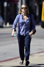 JODIE FOSTER Out and About in West Hollywood