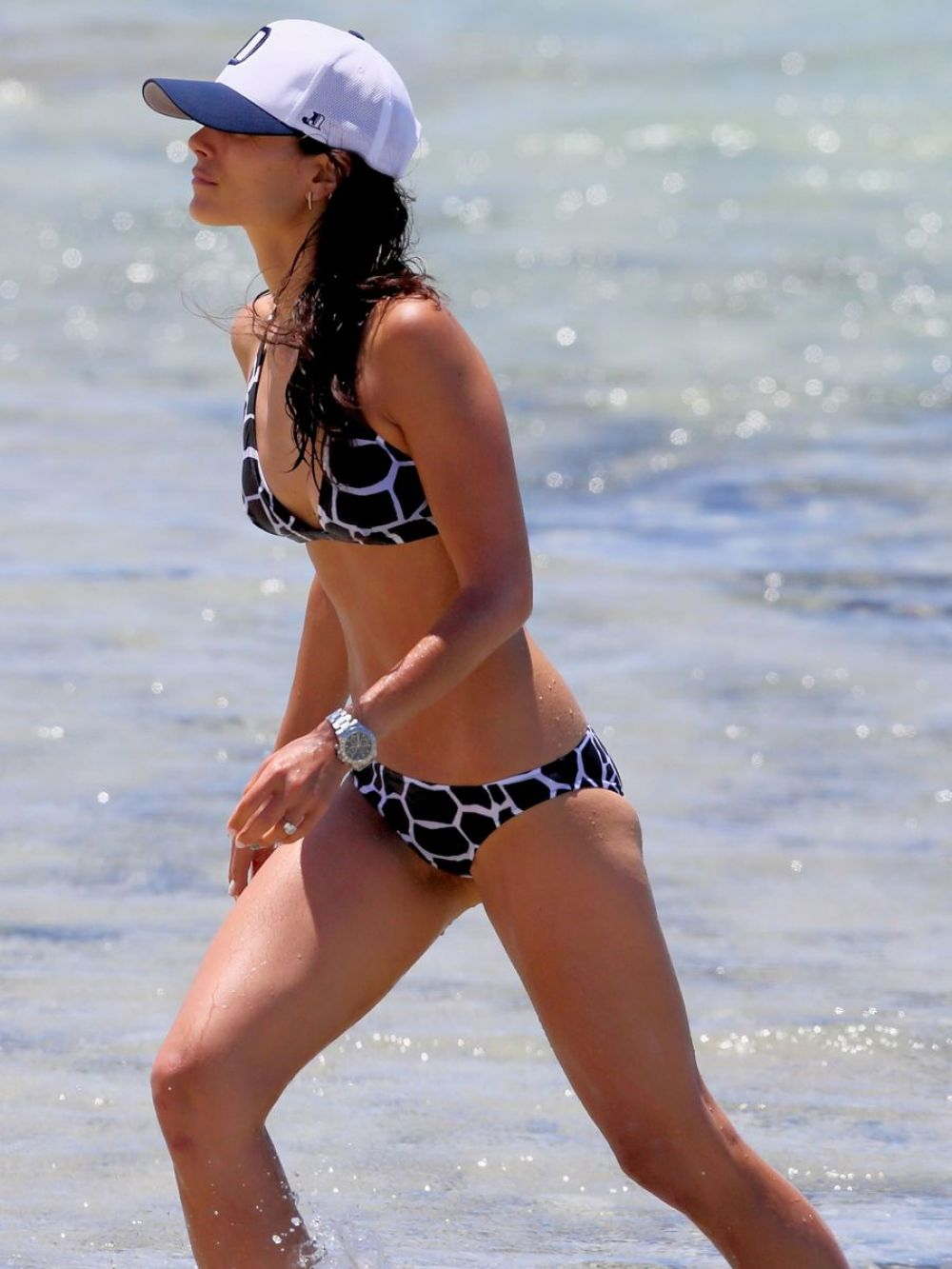 JORDANA BREWSTER in Bikini on the Beach in Hawaii