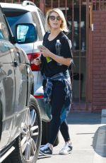 JULIANNE HOUGH Arrives at Dancing with the Stars Studio in Hollywood