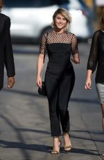 JULIANNE HOUGH Arrives at Jimmy Kimmel Live in Hollywood