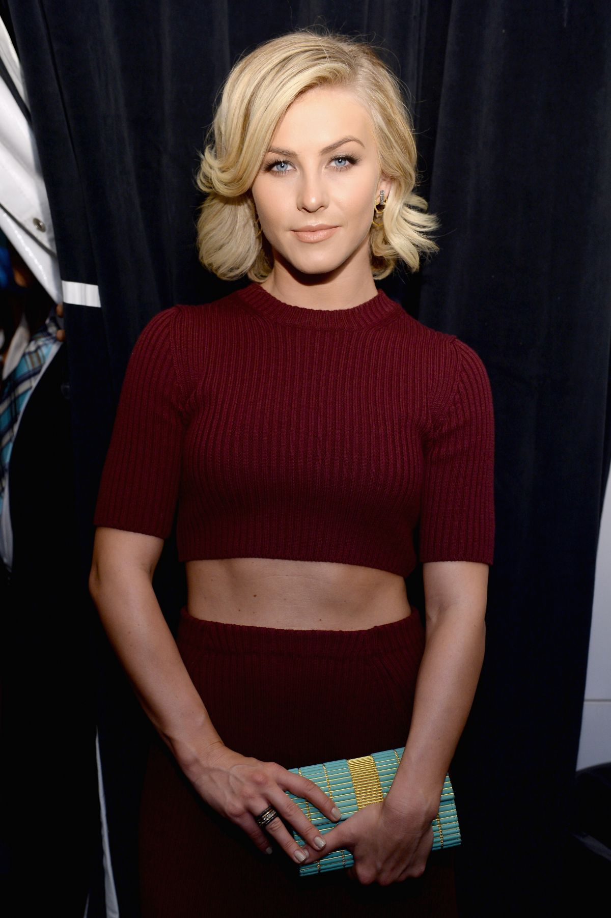 JULIANNE HOUGH at Marc Jacobs Fashion Show in New York