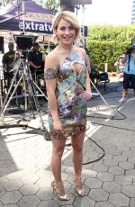 JULIANNE HOUGH on the Set of Extra in Universal City 1109