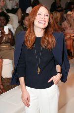 JULIANNE MOORE at Ralph Lauren Fashion Show in New York