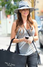 JULIE BENZ Out Shopping at Rag and Bone in West Hollywood