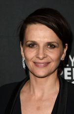 JULIETTE BINOCHE at WB and Dolce & Gabbana Cocktail Party in Toronto