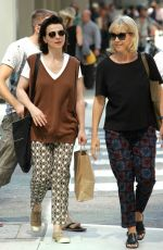 JULIETTE BINOCHE Out and About in Toronto