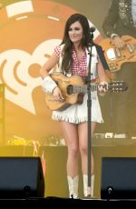 KACEY MUSGRAVES Performs at Iheartradio Music Festival in Las Vegas