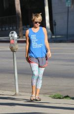 KALEY CUOCO Arrives at Yoga Class in Los Angeles