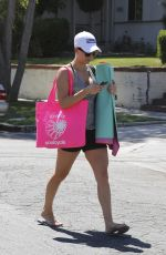 KALEY CUOCO at Leaving Yoga Class in Sherman Oaks