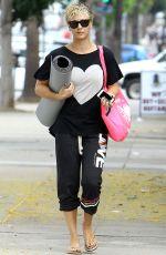 KALEY CUOCO Heading to Yoga Class in Studio City