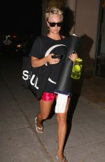KALEY CUOCO Leaves a Evening Yoga Class in Sherman Oaks