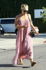 KALEY CUOCO Leaves Andy Lecompte Salon in West Hollywood