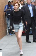 KAREN GILLAN Arrives at The View Studios in New York