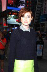 KAREN GILLAN at Good Morning America in New York