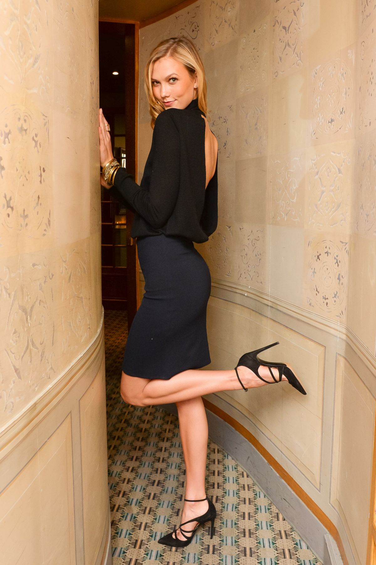 KARLIE KLOSS at matchesfashion.com Dinner for Tabitha Simmons in Paris