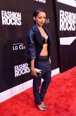 KAT GRAHAM at Fashion Rocks 2014 in New York