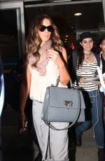 KATE BECKINSALE Arrives at Airport in Toronto