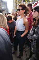 KATE BECKINSALE Out and About in Toronto