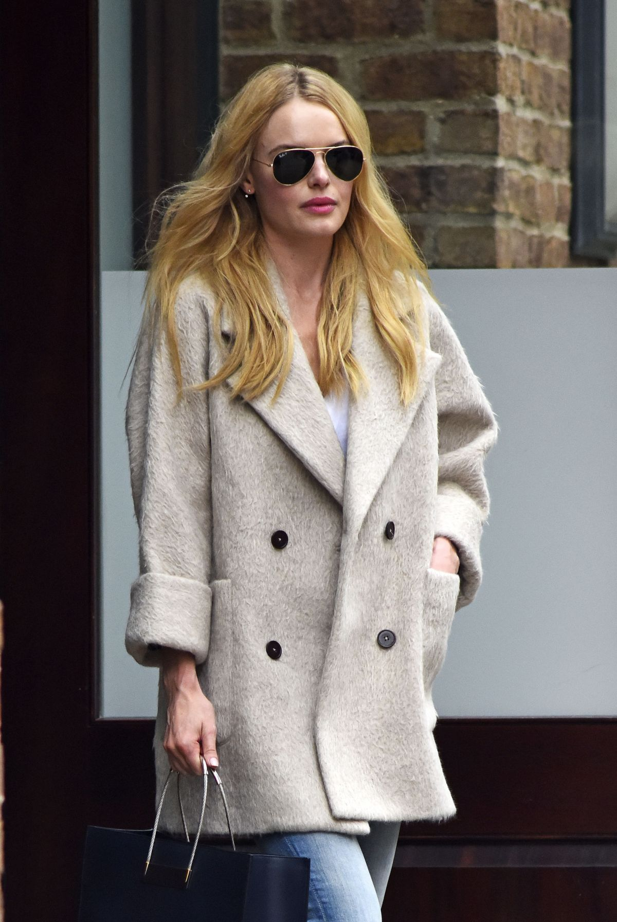 KATE BOSWORTH Leaves Greenwhich Hotel in New York