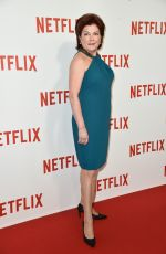 KATE MULGREW at Netflix Lainch Party in Paris