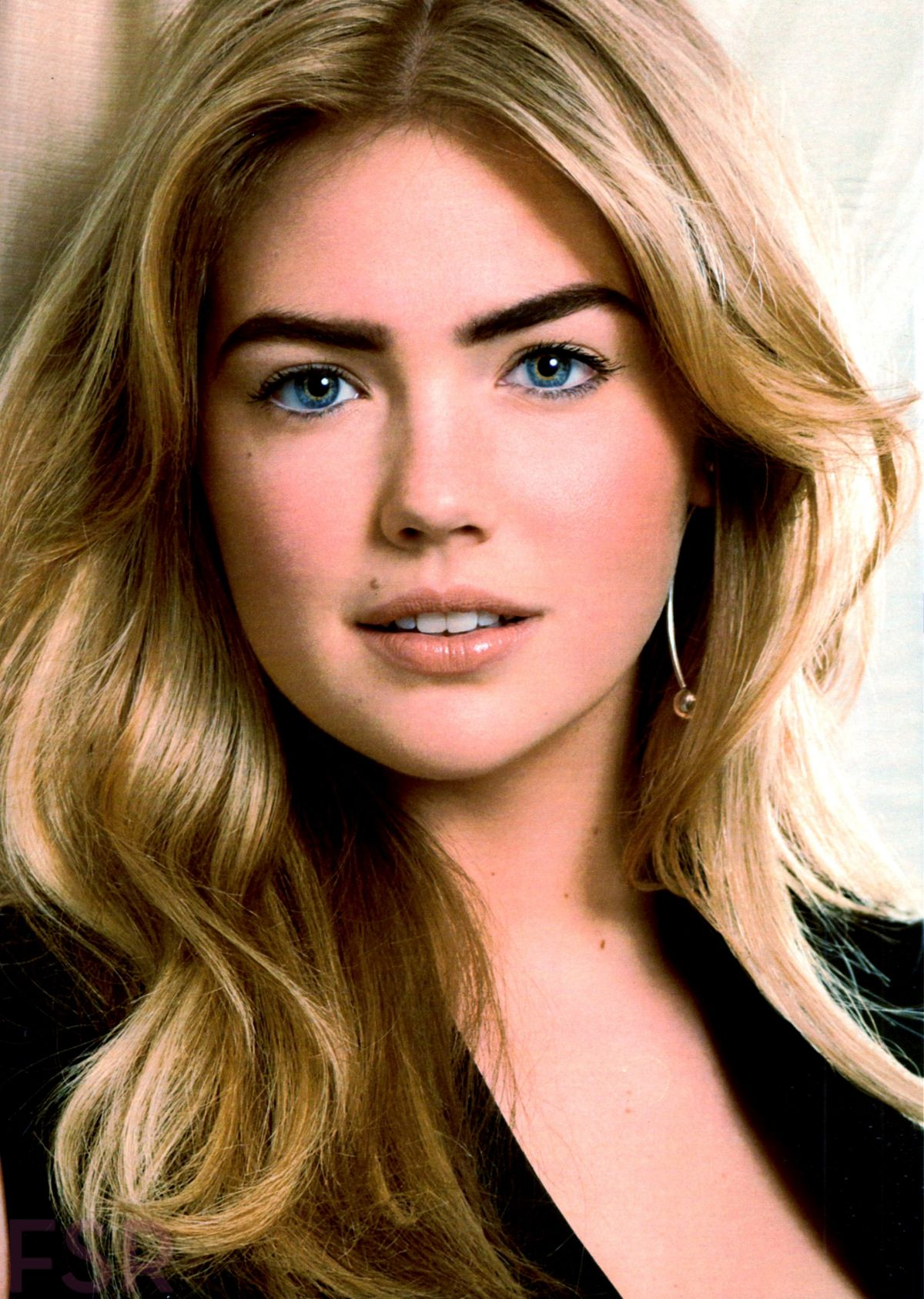 KATE UPTON in Cosmopolitan Magazine, October 2014 Issue
