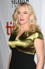 KATE WINSLET at A Little Chaos Premiere in Toronto