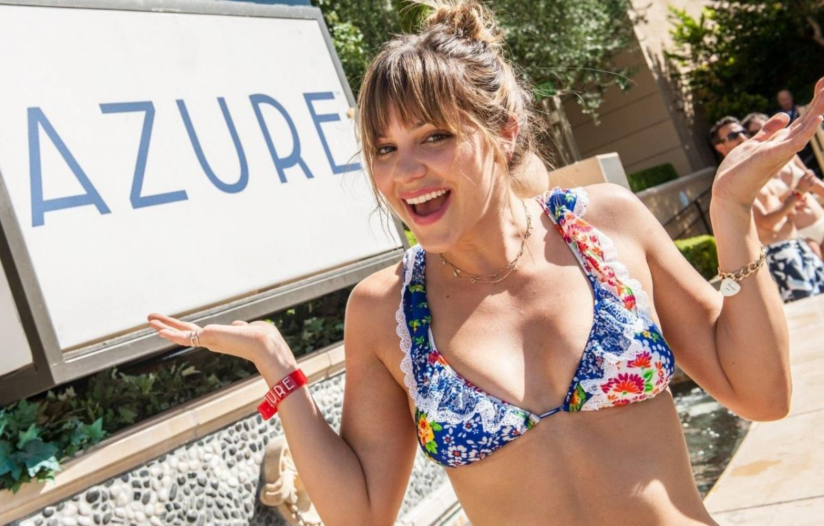 Disney Stars In Bikini KATHARINE MCPHEE in Bikini at