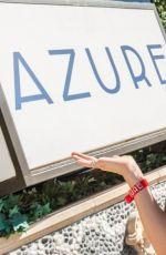 KATHARINE MCPHEE in Bikini at Azure Luxury Pool in Las Vegas