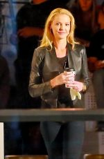 KATHERINE HEIGL on the Set of State of Affairs in Los Angeles