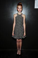 KATHERINE MCNAMARA at Jay Godfrey Fashion Show in New York