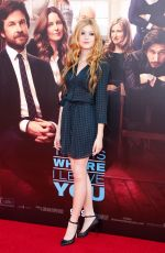 KATHERINE MCNAMARA at This Is Where I Leave You Premiere in Hollywood
