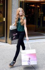 KATHERINE MCNAMARA Shopping at Aritzia in New York