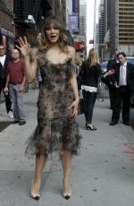KATHERINE MCPHEE at The Late Show with David Letterman in New York