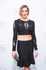 KATIE CASSIDY at Herve Leger by Max Azria Fashion Show in New York