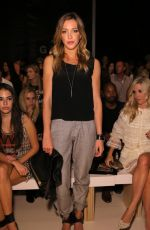 KATIE CASSIDY at Nicole Miller Fashion Show in New York