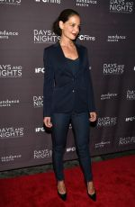 KATIE HOLMES at Days and Nights Premiere in New York