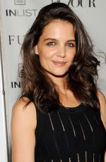 KATIE HOLMES at Dujour Magazine Fall Cover Party in New York