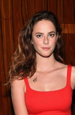 KAYA SCODELARIO at The Equalizer Premiere in new York
