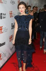KEIRA KNIGHTLEY at Laggies Premiere in Toronto