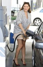 KELLY BROOK at a Gas Station in West Hollywood 2809