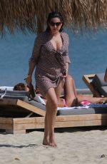 KELLY BROOK in Bikini at a Beach in Greece 1809