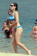 KELLY BROOK in Bikini at a Beach in Greece