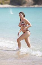 KELLY BROOK in Bikini at a Beach in Mykonos