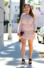 KELLY BROOK Out and About in Hollywood 2609