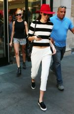 KENDALL JENNER and HAILEY BALDWIN Out Shopping in New York