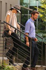 KENDALL JENNER Arrives at Elite Model Management in Milan