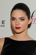 KENDALL JENNER at Fashion Media Awards in New York