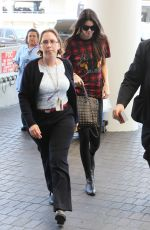 KENDALL JENNER at Los Angeles International Airport
